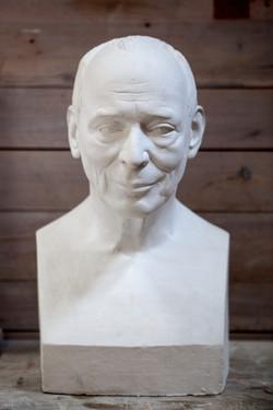 Portrait Robert Näf, Gips
