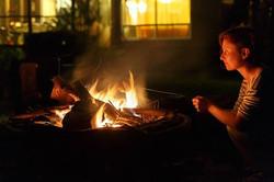 Cottage firepit