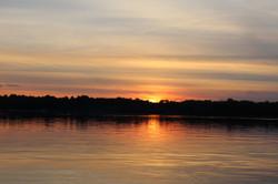 Sunset at Young Lake