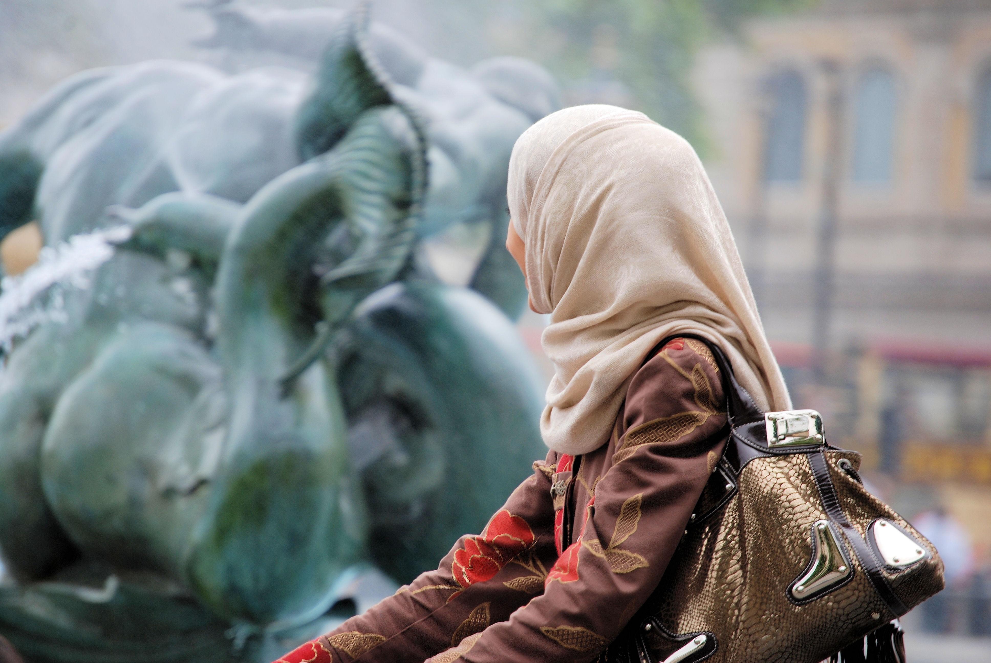 islamische Frau