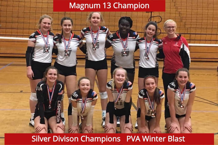 13 Champion Silver Winner at Winter Blast