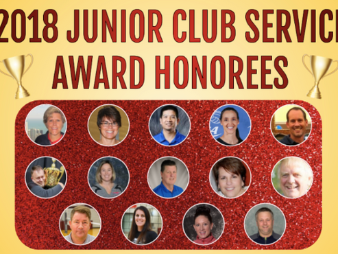 Club Director, Eric Shick, honored for JVA Club Service Award