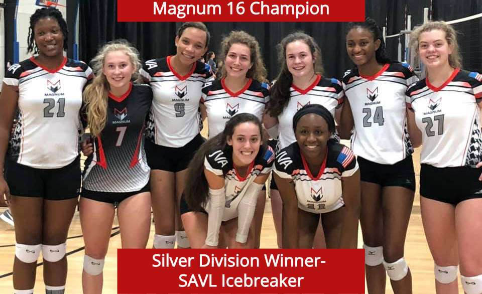16 Champion Silver Winner at SAVL Icebreaker