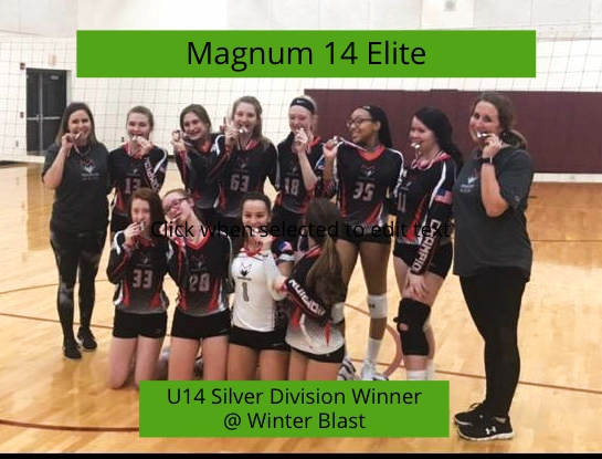 14 Elite Silver Winner @ Winter Blast