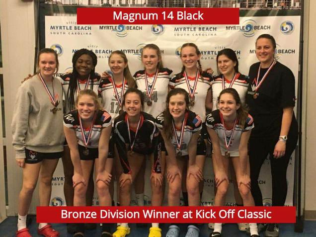 14 Black Bronze Winner At Kickoff Classic