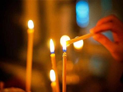 Свеча в храм
