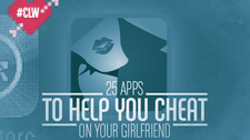 25 Apps to Help You Cheat on Your Girlfriend