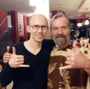 Simon und Wim Hof