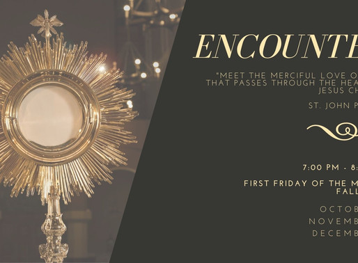 Come and ENCOUNTER Jesus