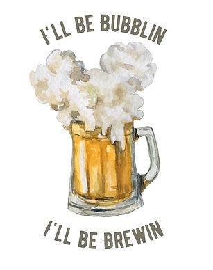 Bubblin N Brewing Sublimation
