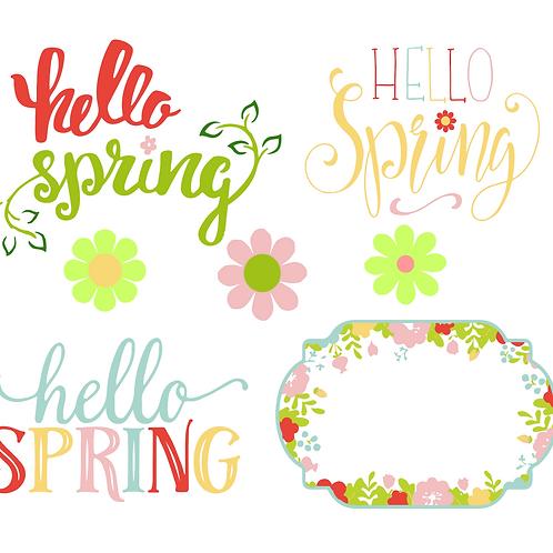 Spring SVG Bundle