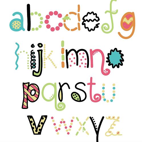 Scripty Doo Dads Fonts