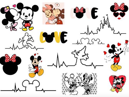 Mickey Valentines Bundle