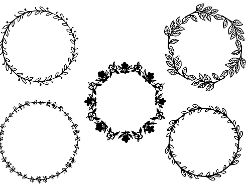 Decorative Wreath Bundle