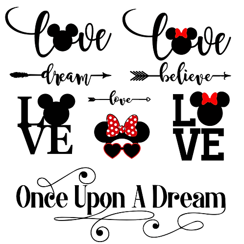 Mickey Love Bundle