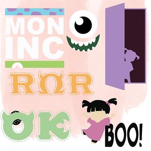 Monsters Inc. Bundle