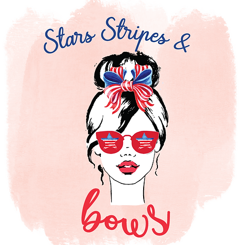 Stars Stripes and Bows