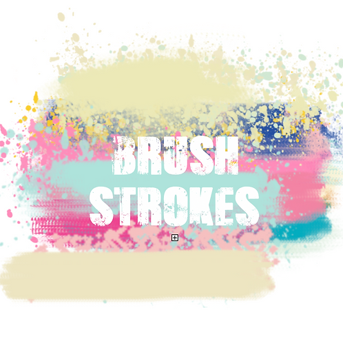 Logo Design Brush Strokes
