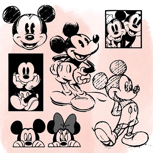 Vintage Mickey Bundle