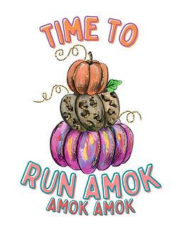3 Pumpkins Sublimation