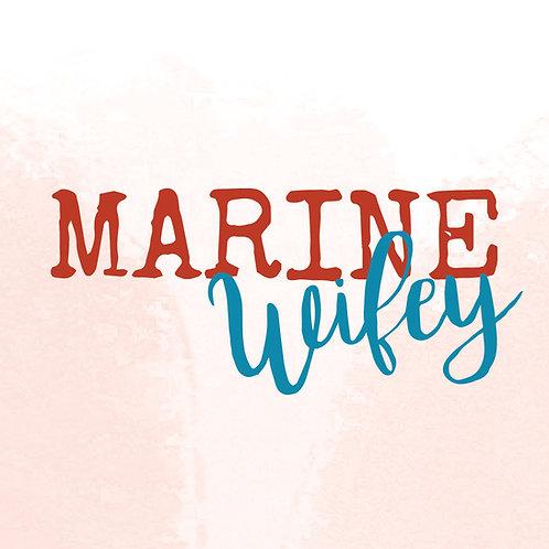 Marine wifey