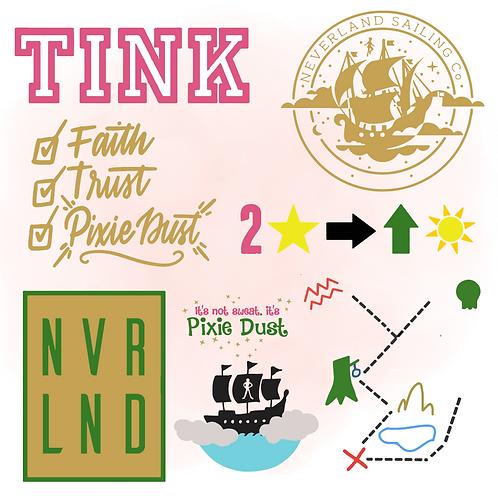 Tinkerbell and Peter Pan Bundle