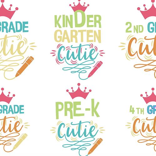 Cutie Kid School Bundle
