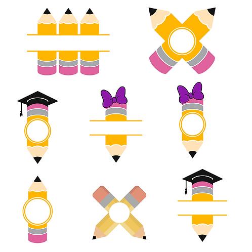 Pencil Monograms