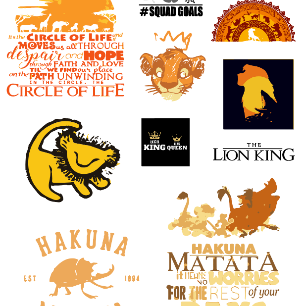 Lion King Bundle