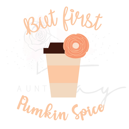 But First, Pumpkin Spice
