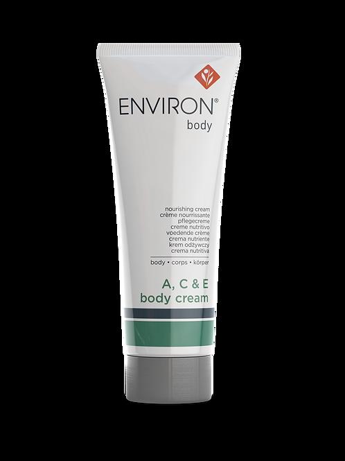 A, C, & E Body Cream