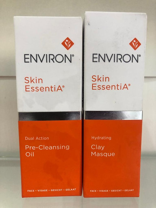 Pre Cleansing oil and Clay Mask set