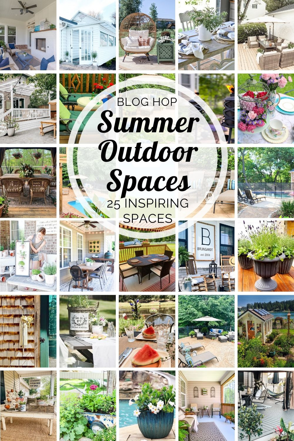 25 Summer Outdoor Spaces