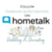 Hometalk Button
