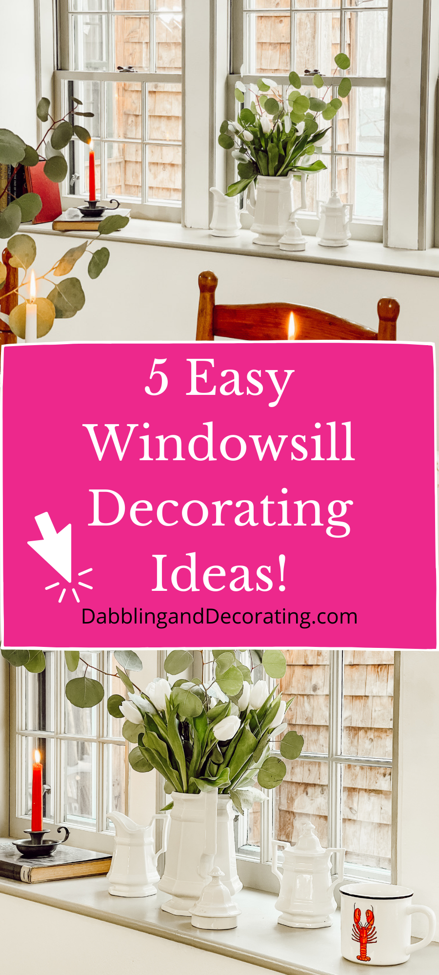 15 Easy Windowsill Decorating Ideas