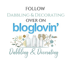Follow Dabbling & Decorating on bloglovin'