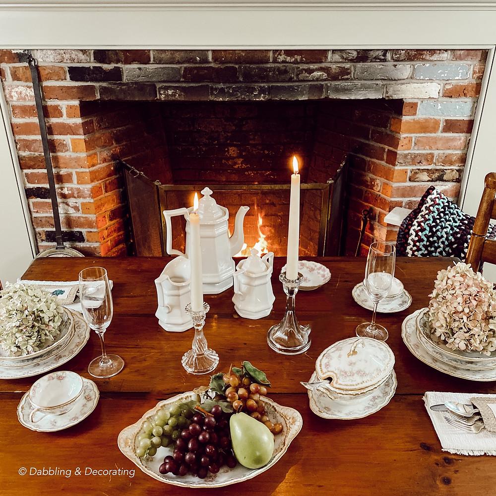 My Cozy Fireside Table