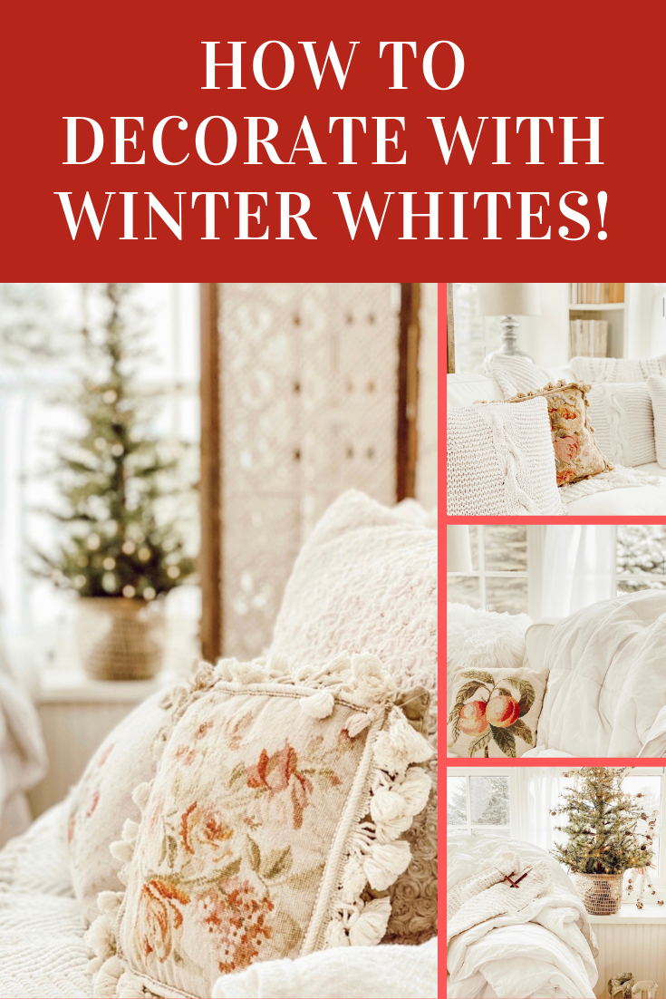 How to Decorate with Winter Whites