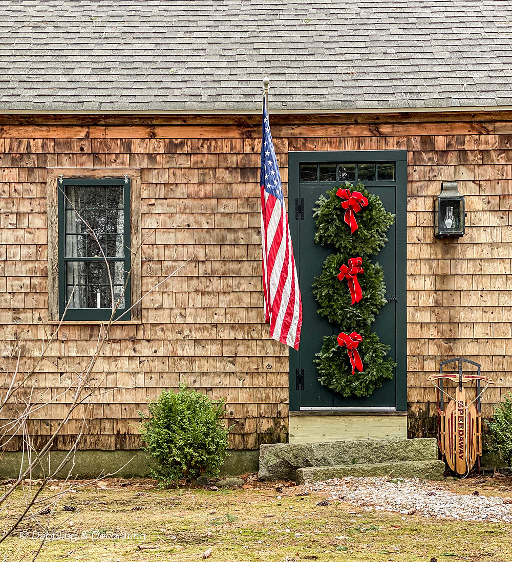 A Front Door Christmas Tradition
