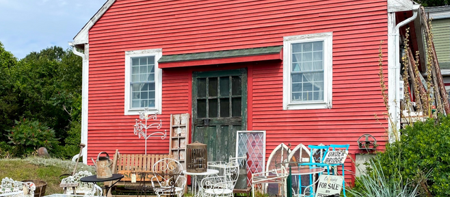 Thrifting for Treasures in New England