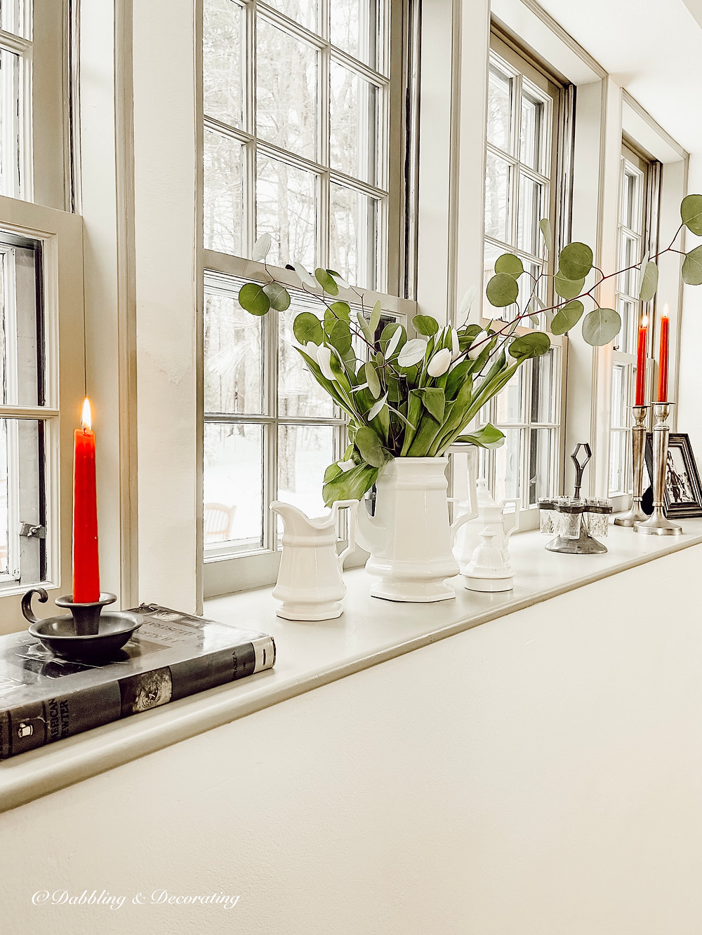 5 Easy Windowsill Decorating Ideas