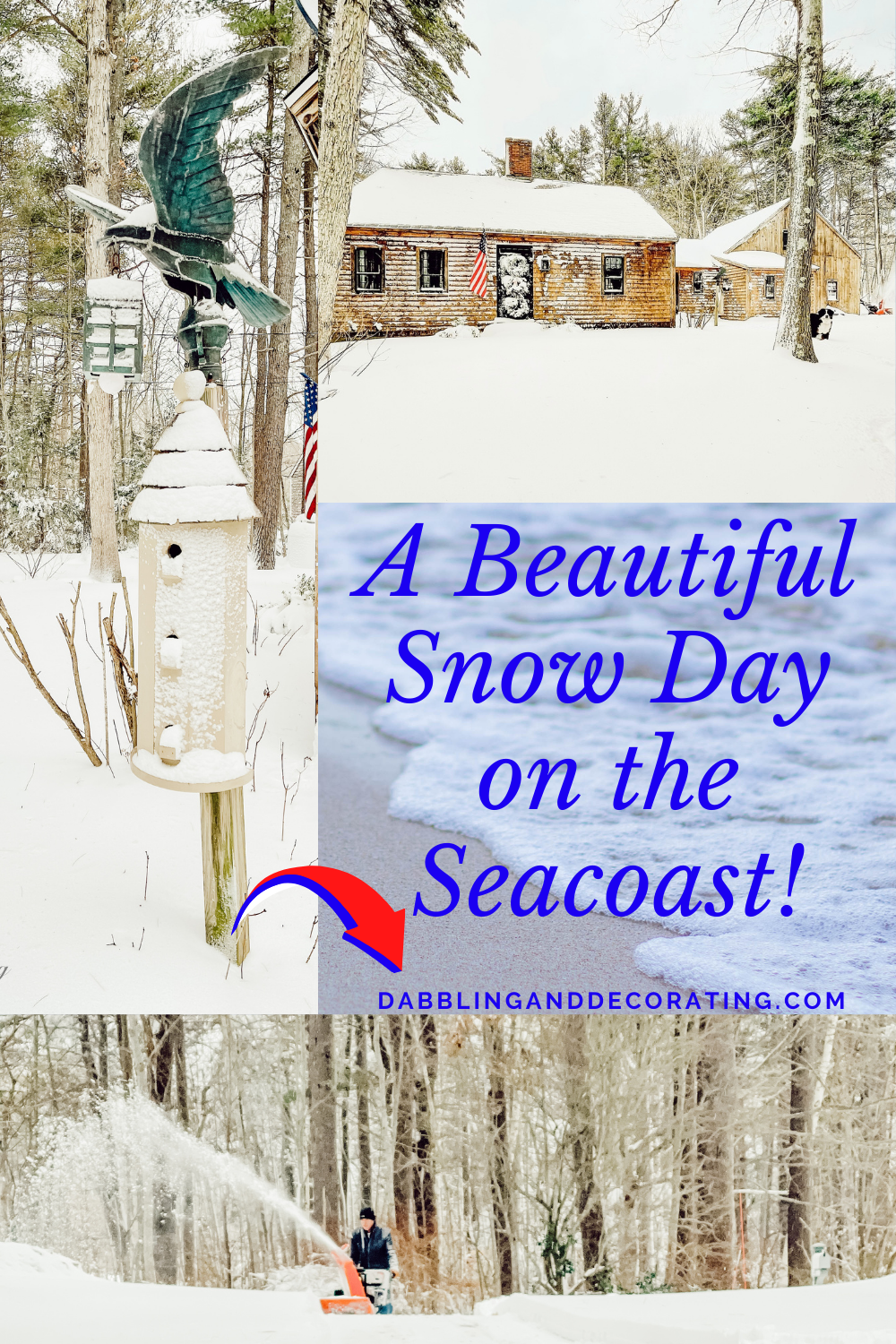 A Beautiful Snow Day on the Seacoast