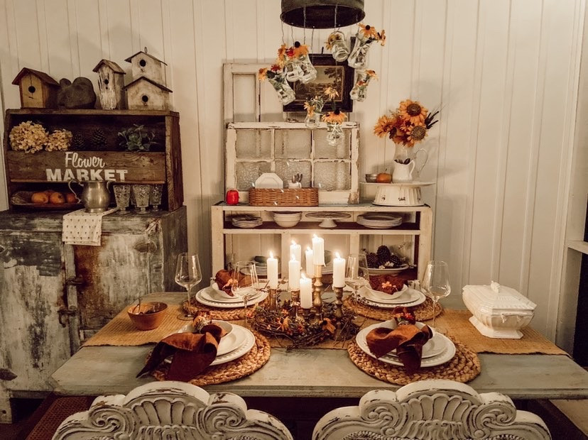 Amazing Late Summer Table Inspirtion