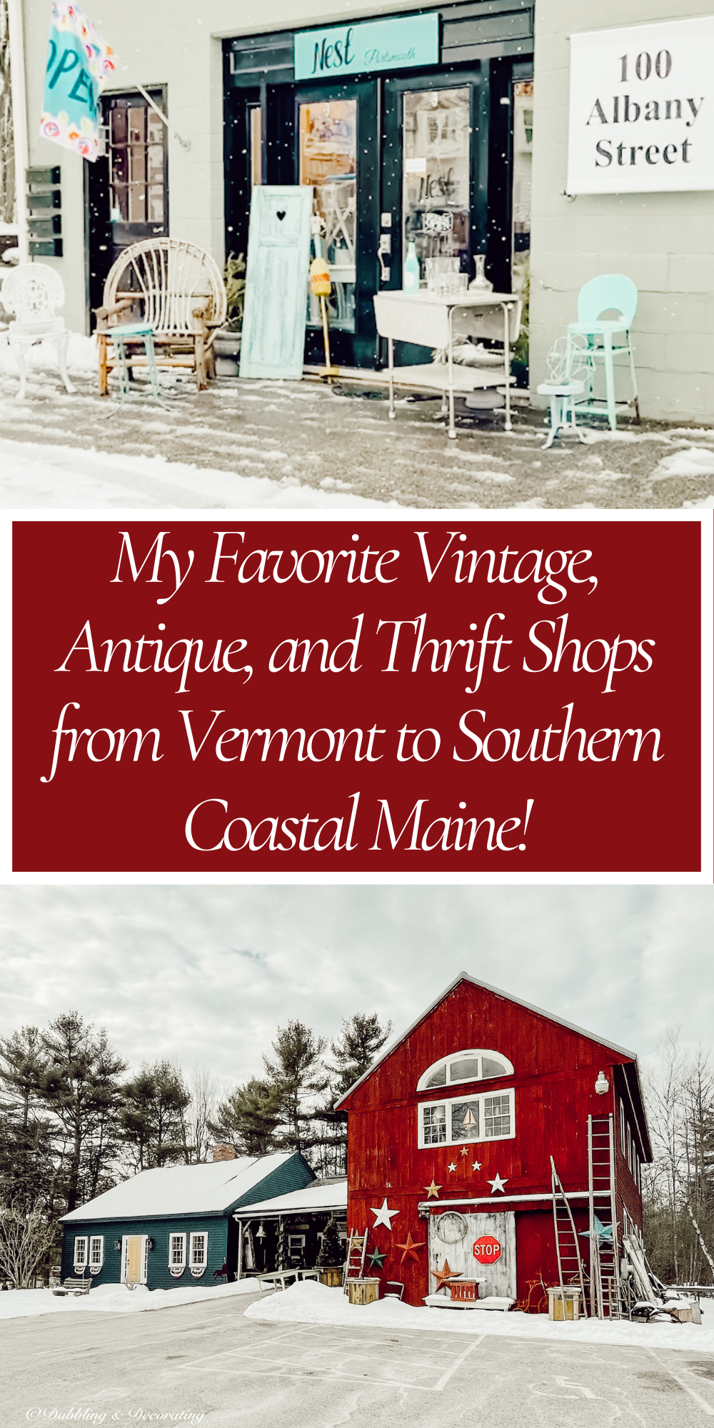 My Favorite Vintage, Antique, and Thrift Shops from Vermont to Southern Coastal Maine
