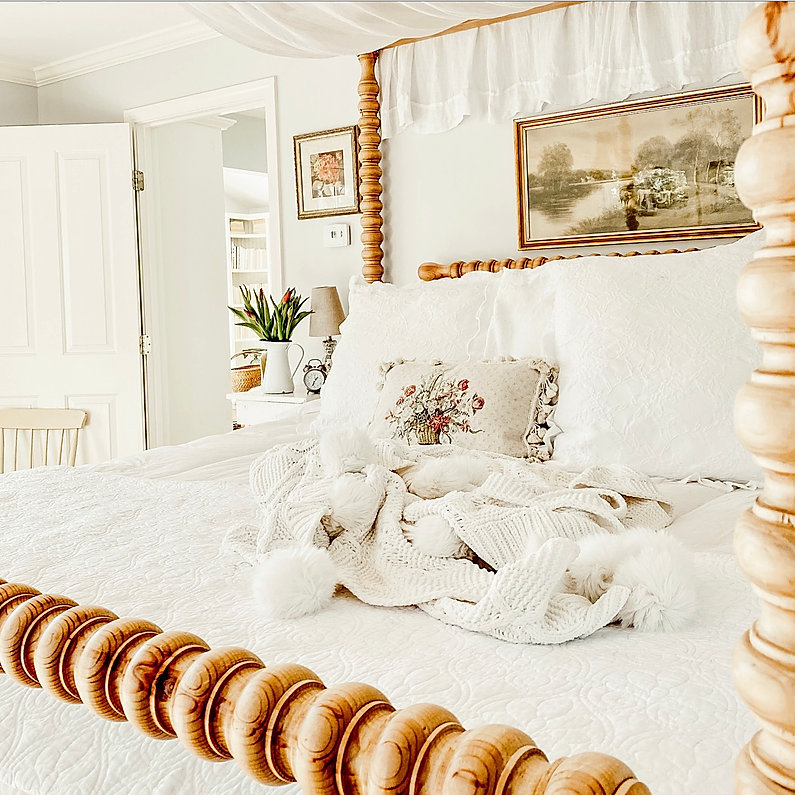 Spiral Canopy Bed