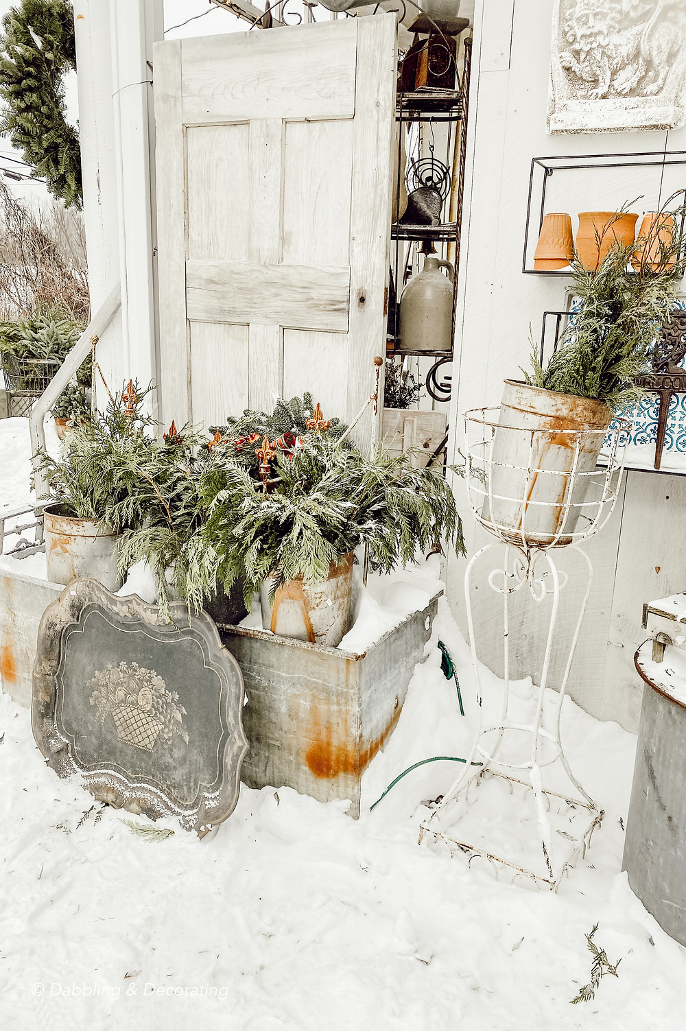 Thrifting in Winter's Snow
