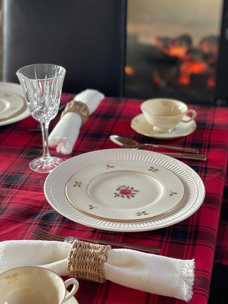 Late Winter Tablescape