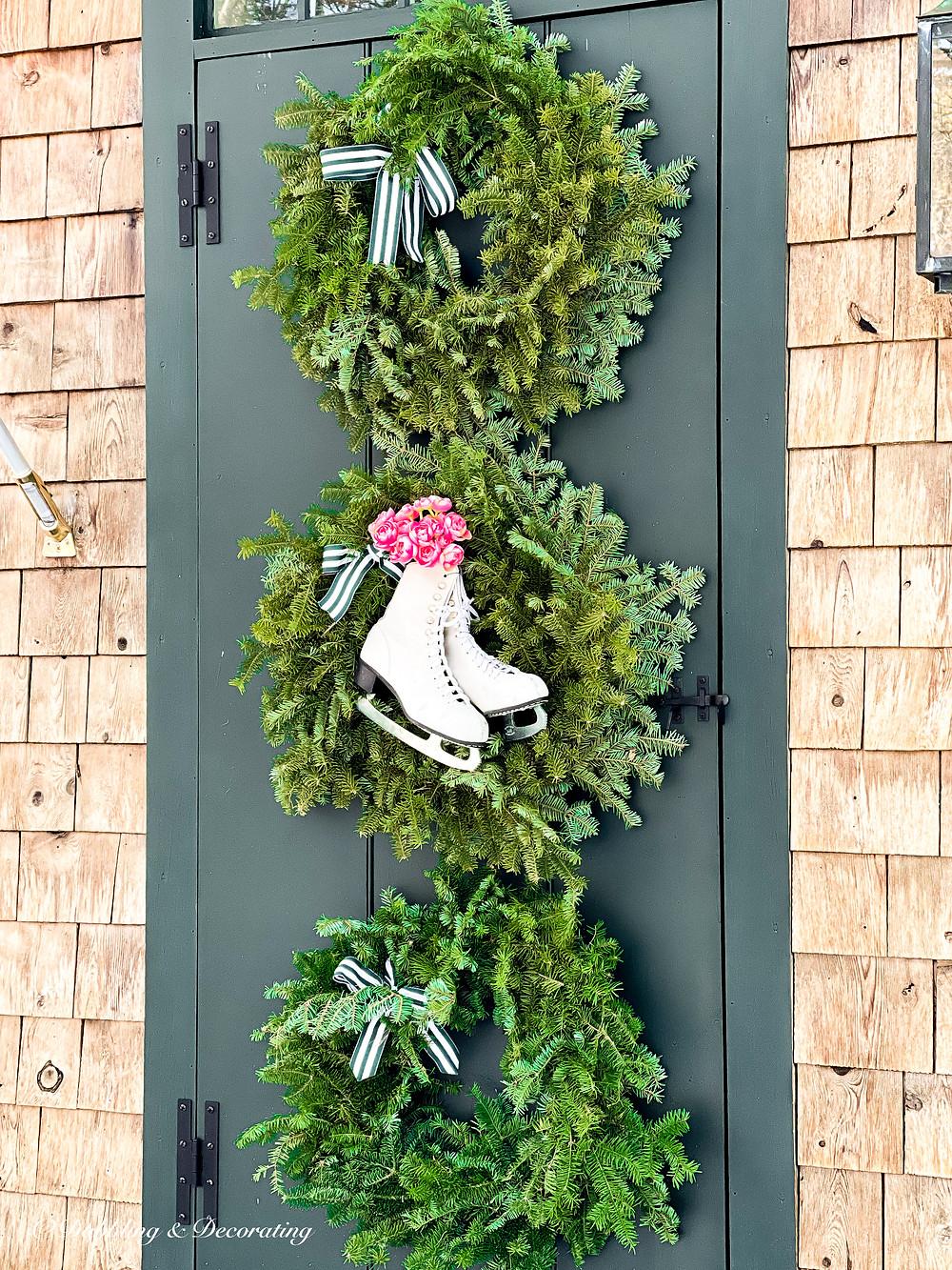 Front Door Valentine's Day Wreaths