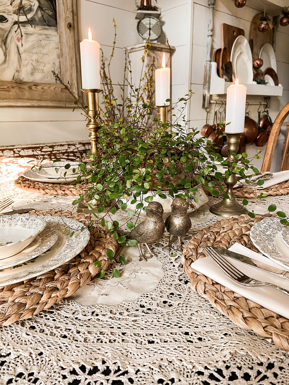 Promise of Spring Tablescape