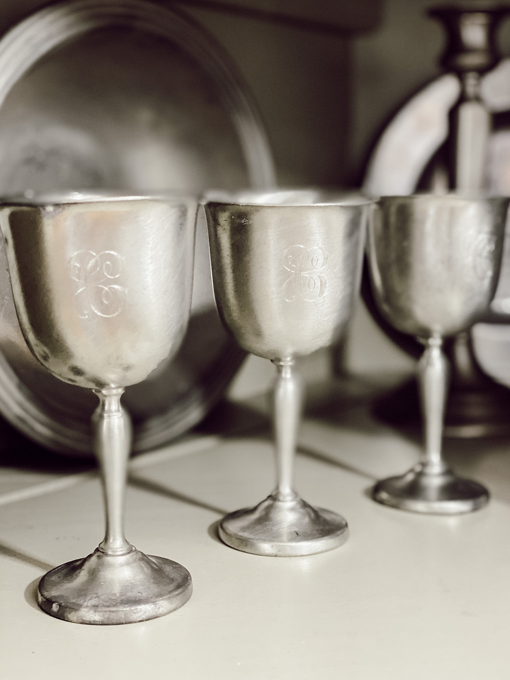 Antique Pewter Collection